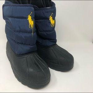 Polo Women's Blue Duck Snow Rain Insulated Boots